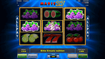 magic 27 spielen