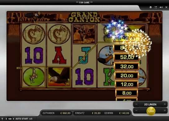 Merkur Grand Canyon online spielen