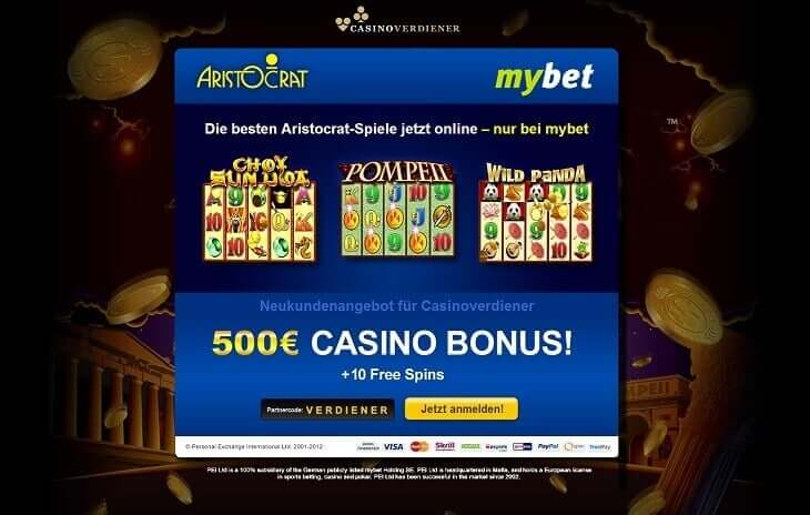 Mybet Bonus Code