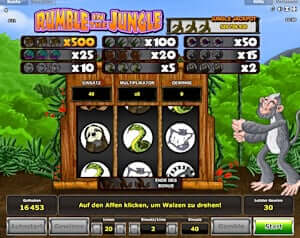 Rumble in the Jungle Novoline online spielen