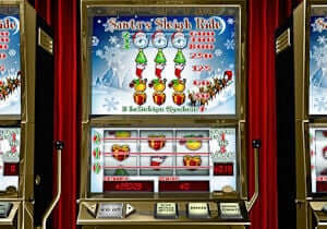 Santas Sleigh Ride Automatenspiel