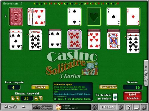 Solitaire im Everest Casino