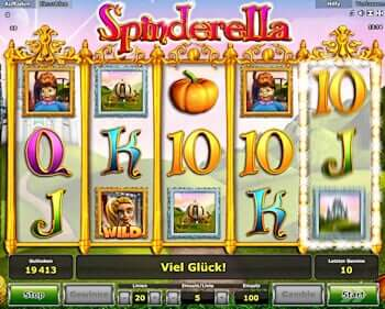 grand casino online spinderella