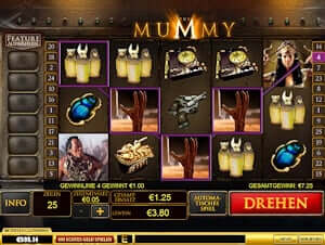 The Mummy online spielen