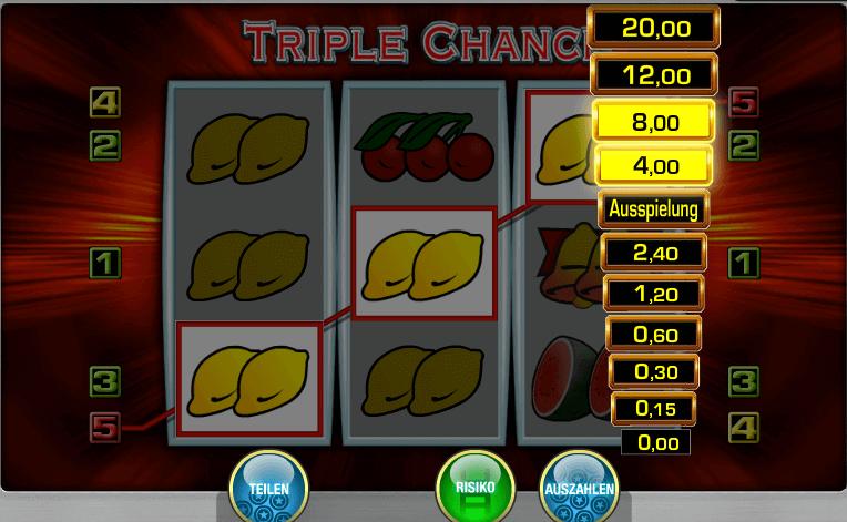risikoleiter bei triple chance