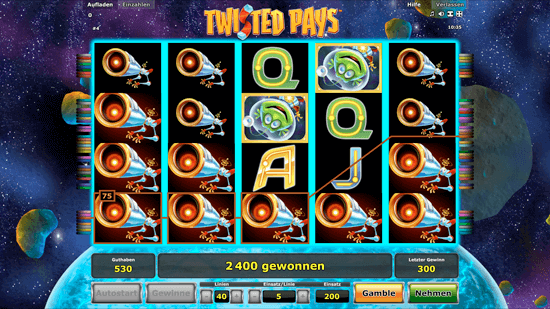 twisted pays spielen