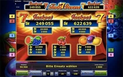 secure online casino sevens spielen