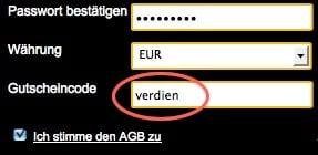EuroGrand Gutschein einlösen