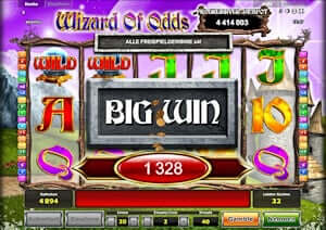 Wizard of Odds online spielen
