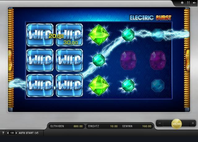 electric burst spielen