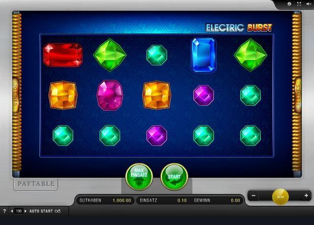 Diamanten unter Spannung bei Electric Burst