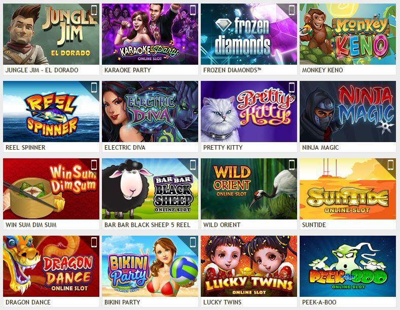GoWild Casino Spiele