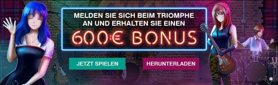 Triomphe Casino Bonus