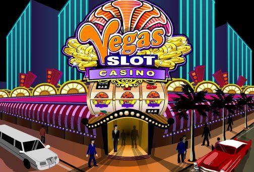 Vegas Slot Casino Logo