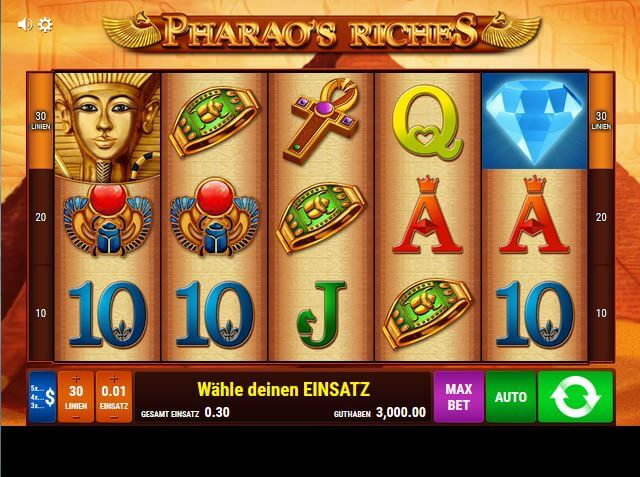 pharaos riches