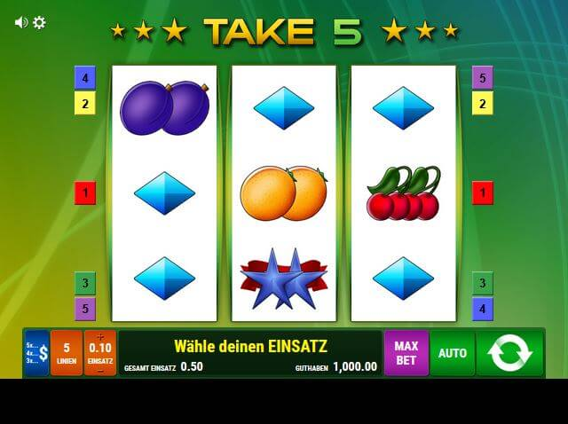 online casino take 5