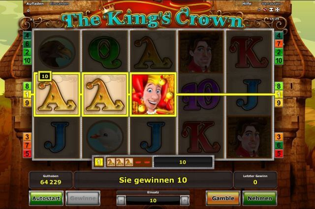 the kings crown spielen