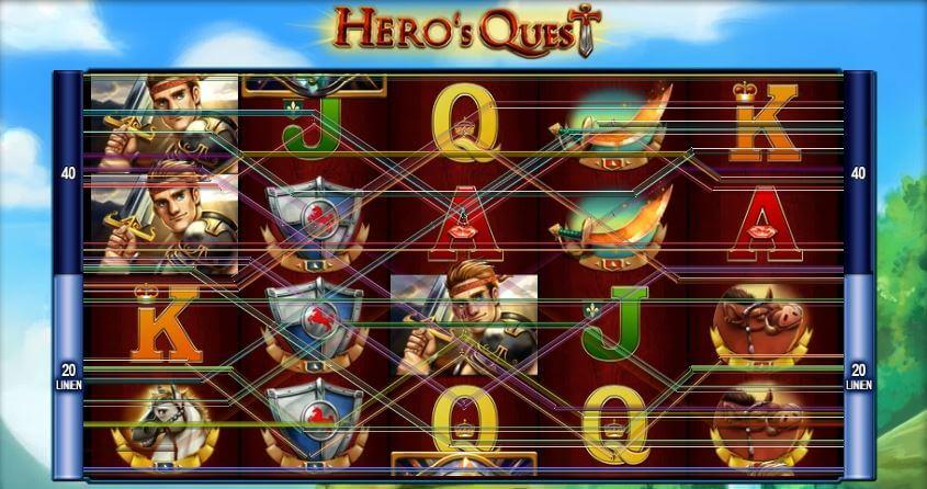 heros quest spielen