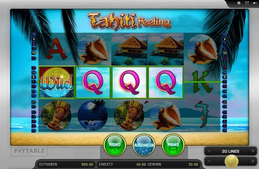 tahiti feeling spielen