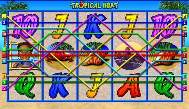 tropical heat spielen