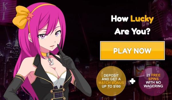 Lucky Niki Casino Bonus Code