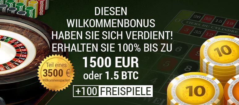 Das Ist Casino Bonus