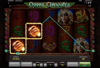 Queen Cleopatra Novoline