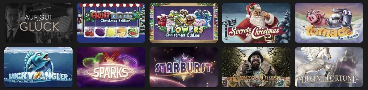 OVO Casino Spiele