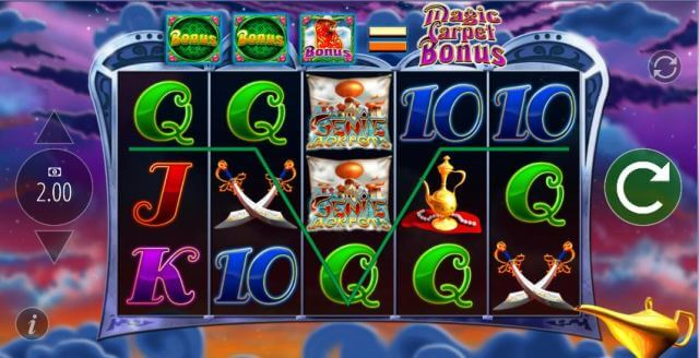 Genie Jackpots Slot