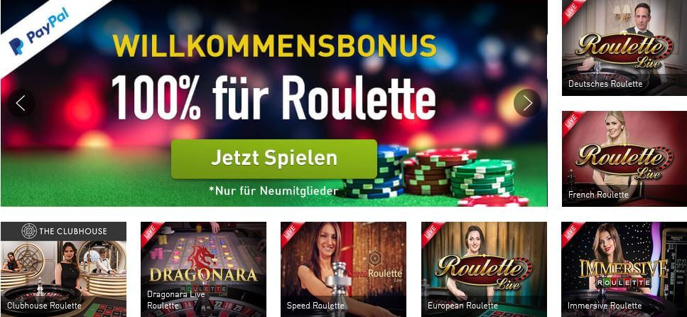 online casino mit roulette