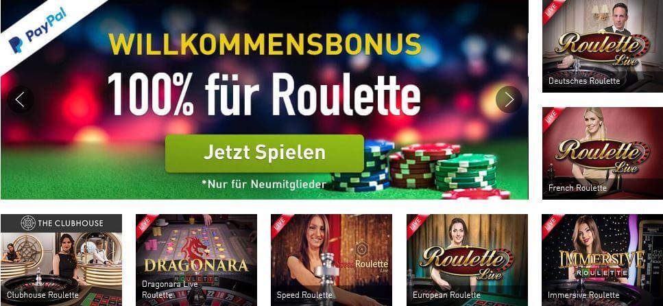 Online Roulette Casinos