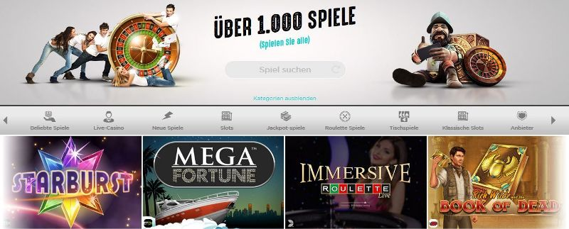 Spinit Casino Mobile