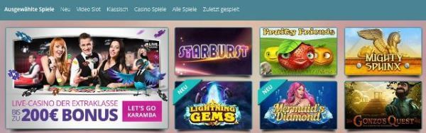 Karamba Casino Bonuscode