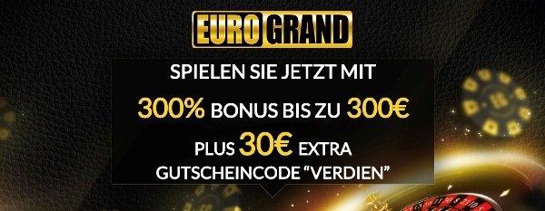 EuroGrand Casino Gutscheincode