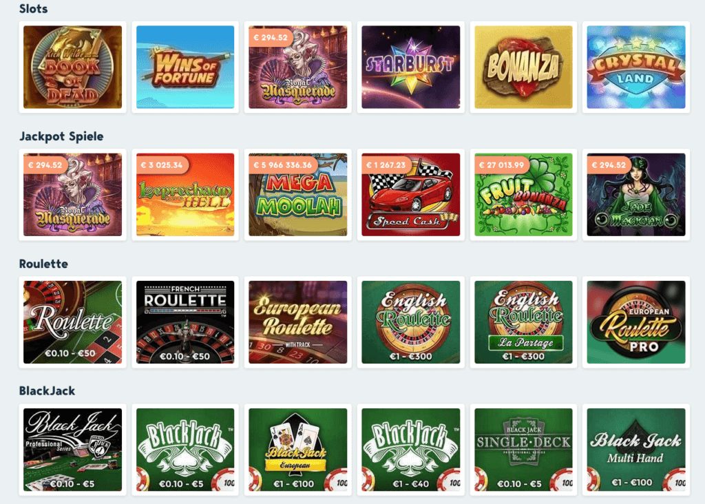 Speedy casino spiele