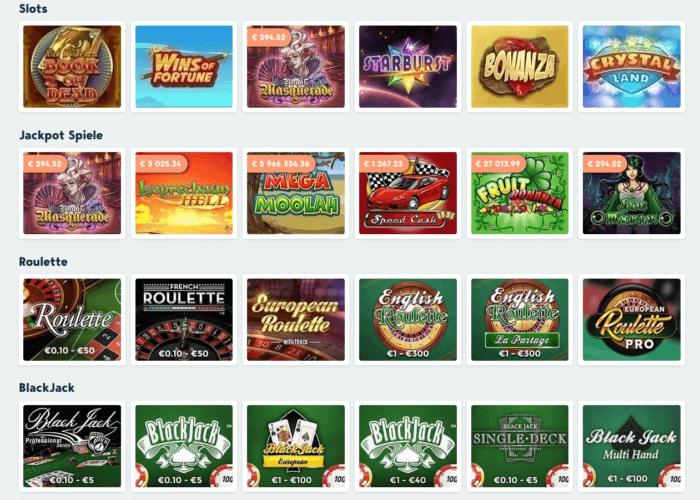 simple casino spiele
