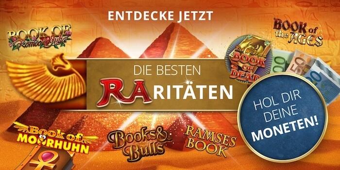Book of Ra Alternativen