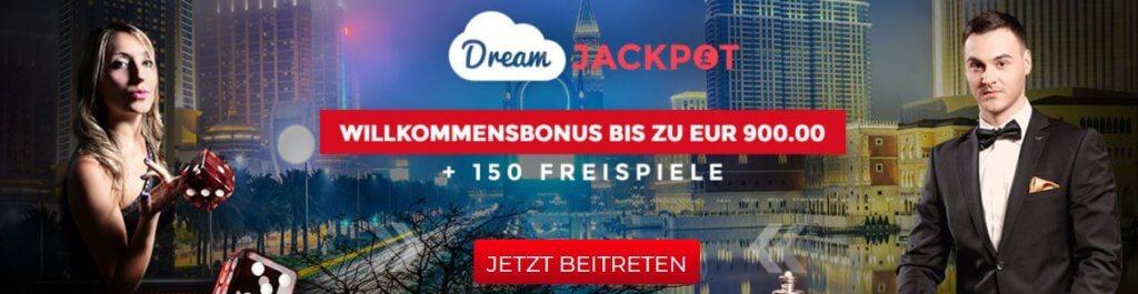 dream jackpot bonus