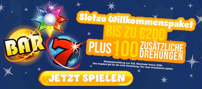 slotzo bonus
