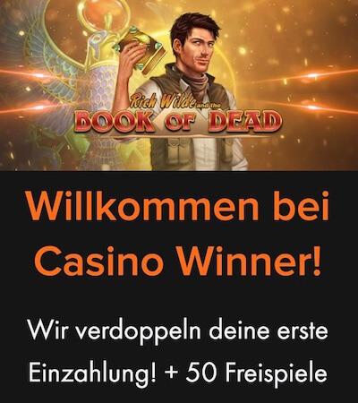 casino winner bonus code