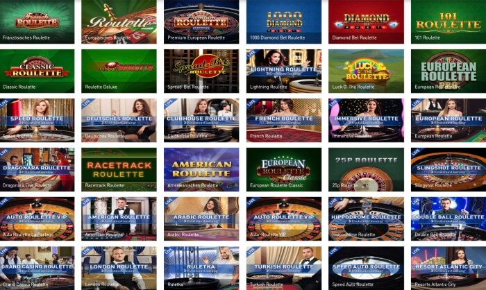 roulette versionen im casinoclub