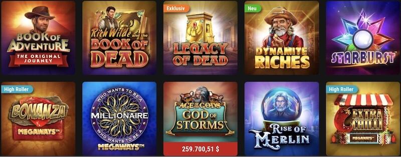 pokerstars casino spiele