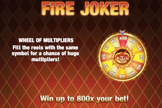 Fire Joker Bonus