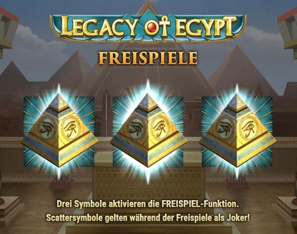 legacy of egypt kostenlos