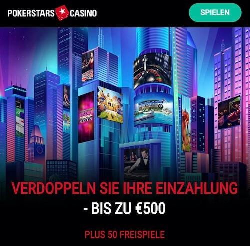 pokerstars casino bonuscode