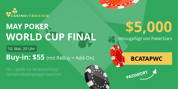 may poker world cup 2020