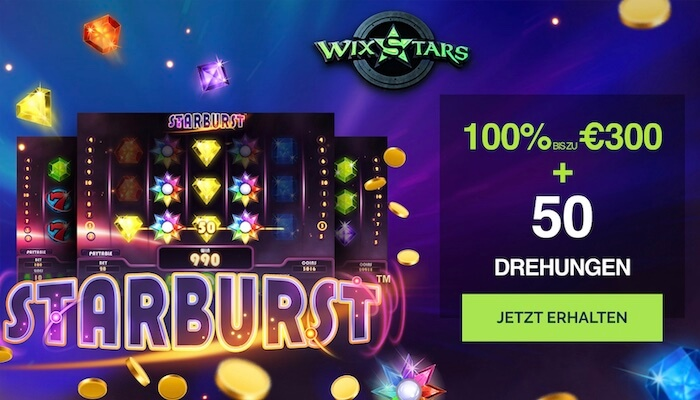 wixstars bonus code